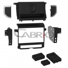 Kit Moldura 2 Din c/ Interface Land Rover Discovery 4 10 a 16 - Cód.: 07006N