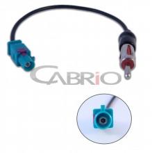 Adaptador de Antena Audi / BMW / Citroen / Chevrolet / Peugeot / Renault / Volkswagen - Cód.: 14101P